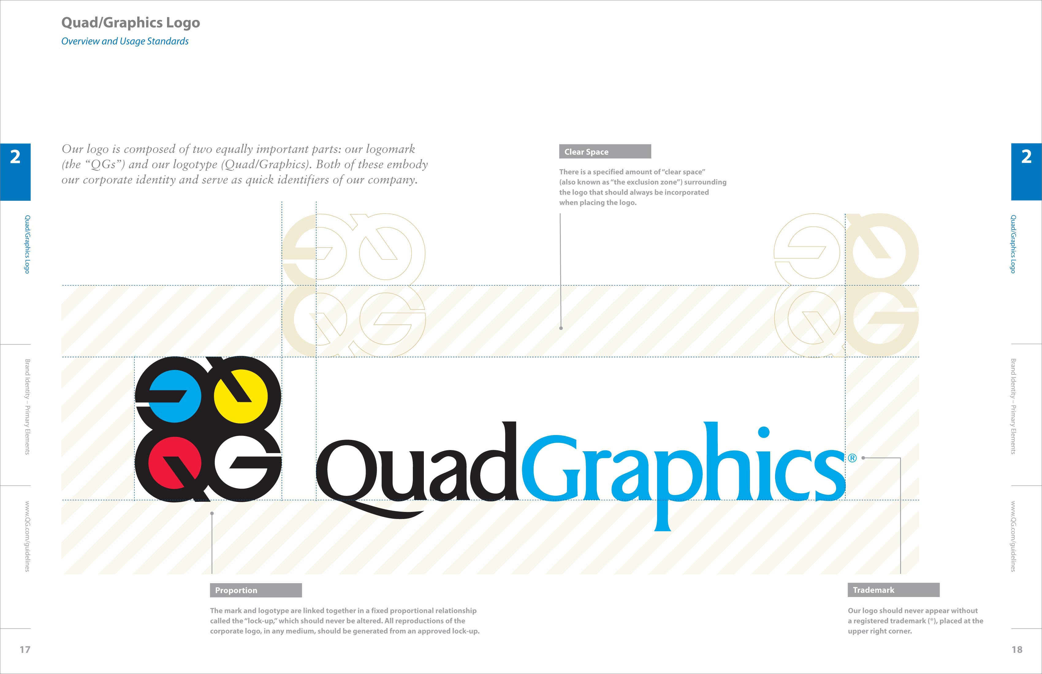 Quad/Graphics, Branding, Brand Design, Collateral, Corporate Communications, Wayfinding, Signage