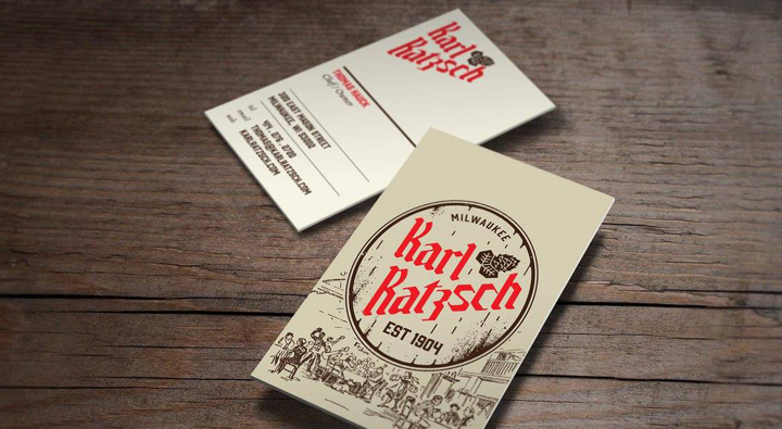 Karl, Ratzsch, Milwaukee, Restaurant, Design, Interior, Branding, Logo, German, Milwaukee
